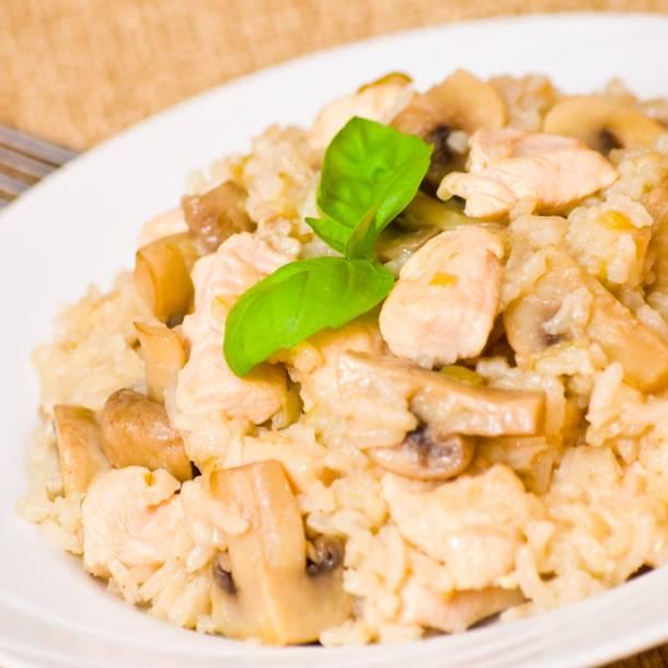 risotto au poulet et chorizo au cookeo