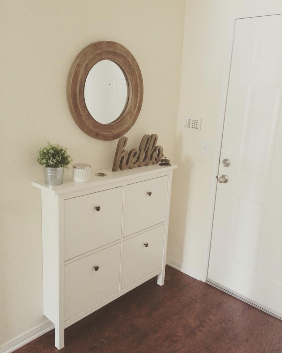 Mon Petit Couloir Hemnes Meuble à Chaussures Ikea