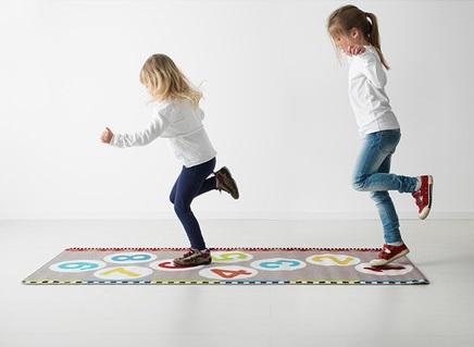 tapis de ikea pour enfants pour les