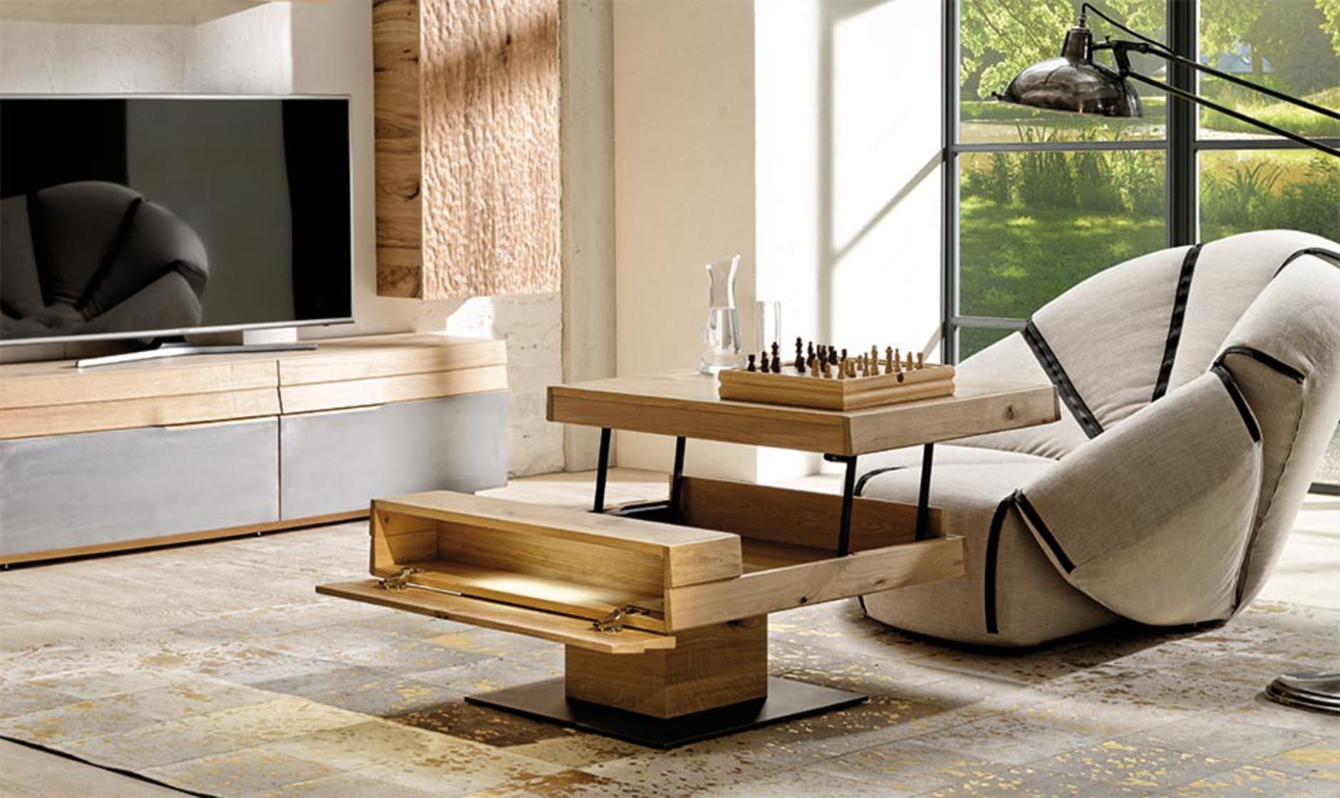 table basse transformable convertible