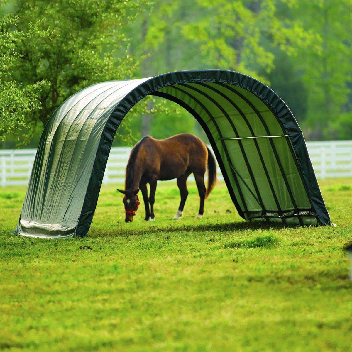 abri en toile pour chevaux de 22 6m2 larg 3 70m x long 6 10m vente au meilleur prix jardins