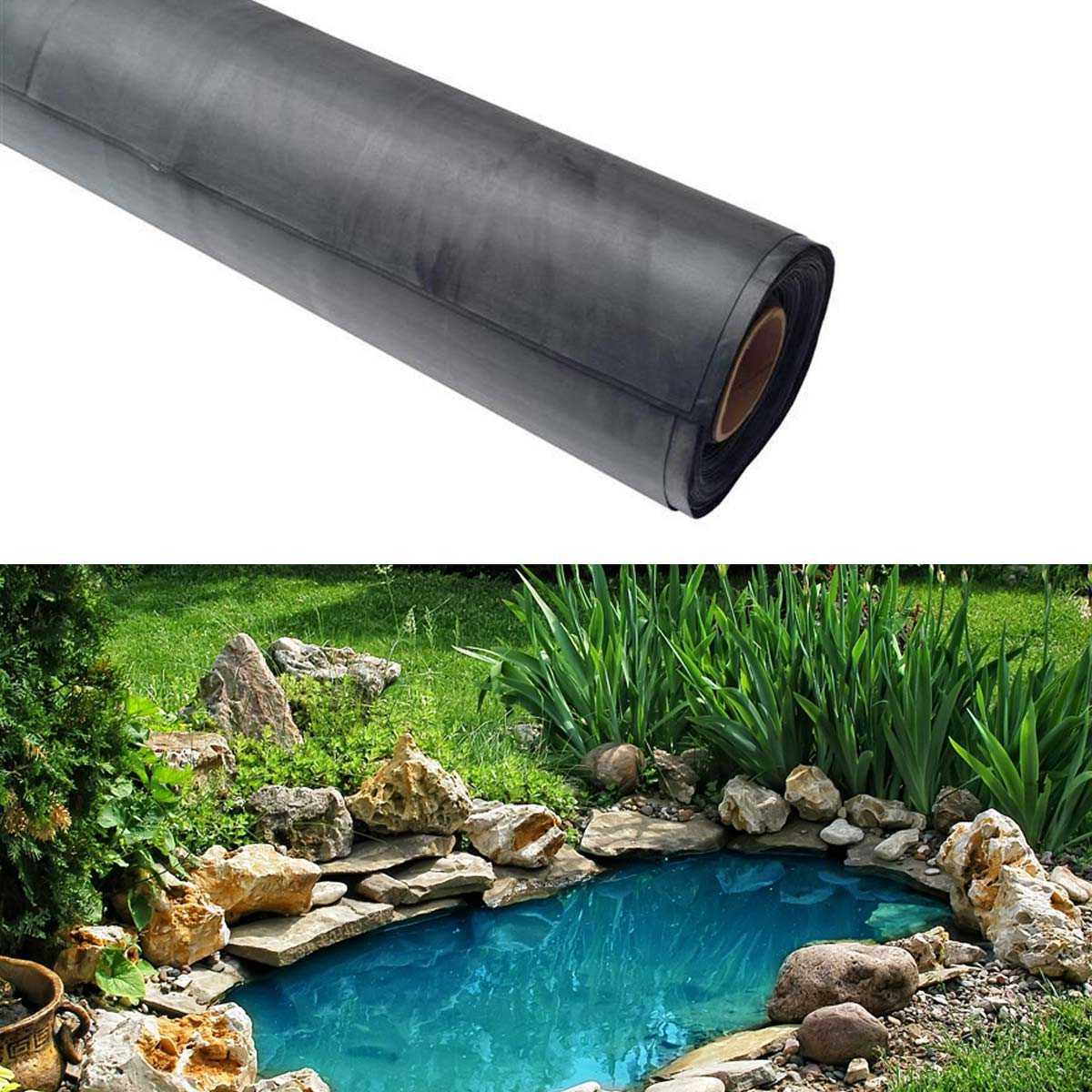 bache de bassin epdm liner sur mesure 9 95 m2 vente au meilleur prix jardins animes