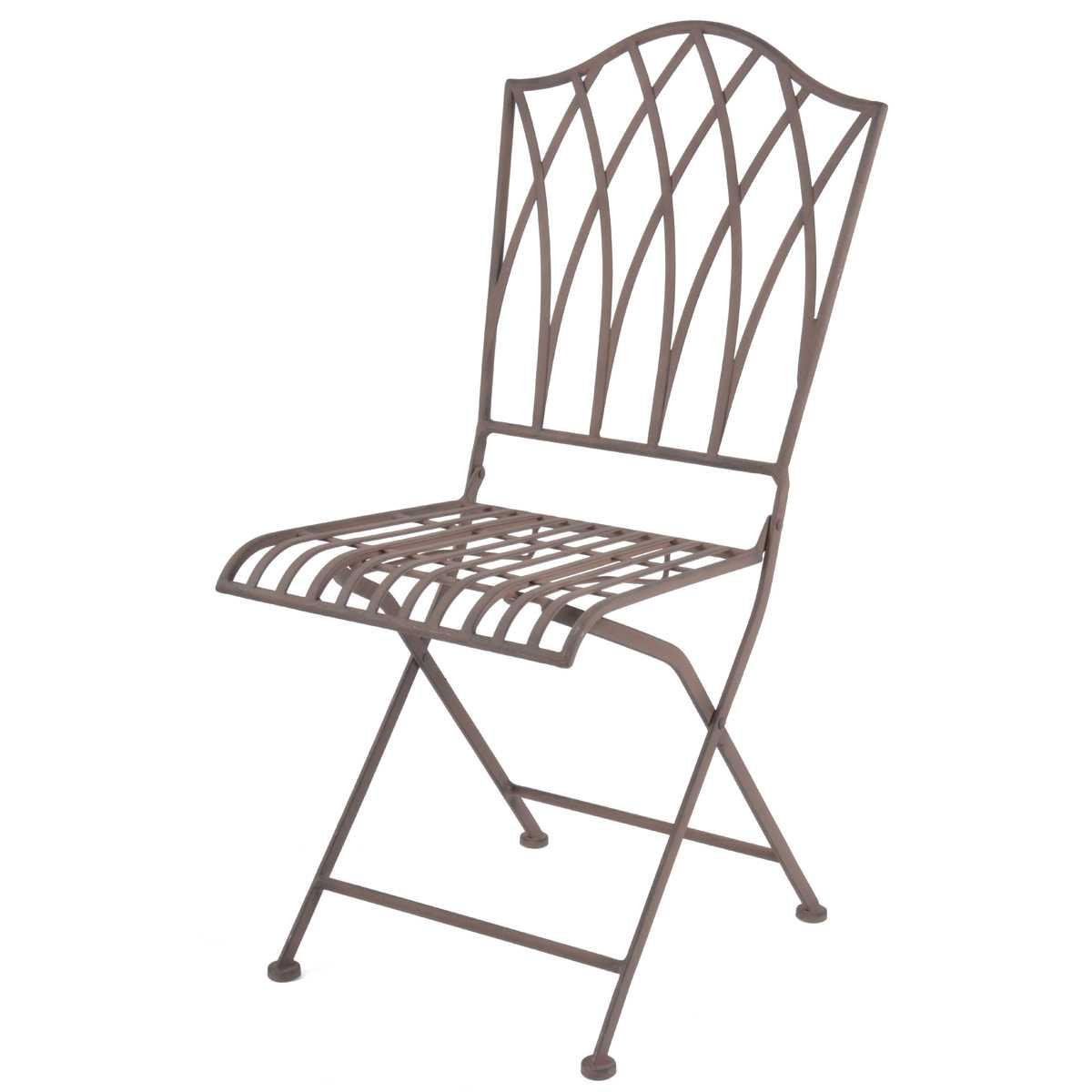 chaise pliable exterieure sophia en acier vente au meilleur prix jardins animes