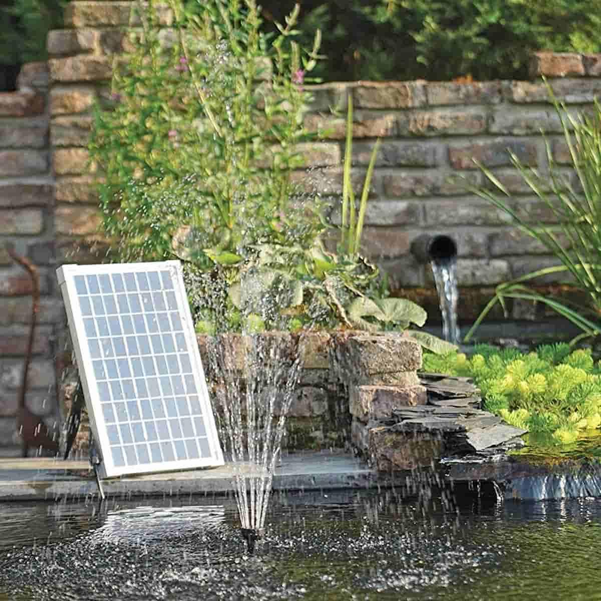 pompe fontaine jets d eau solaire pour bassin