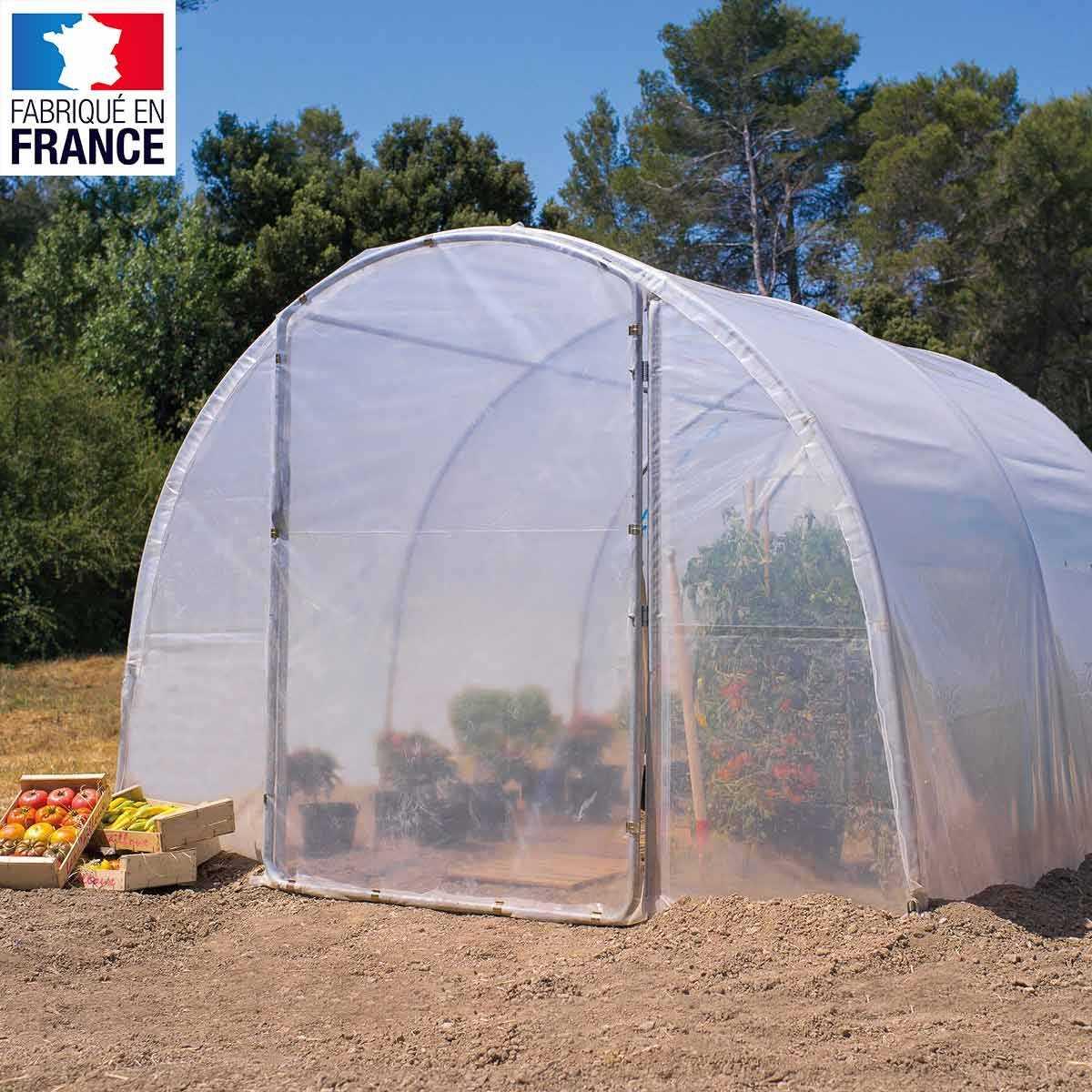 serre de jardin tunnel richel 3m x 3m 9m2 vente au meilleur prix jardins animes