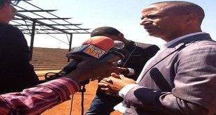 Photo de Moise Katumbi lors d'une interview.