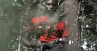 Un rebelle rwandais du FDLR.