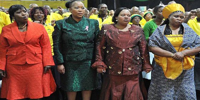 Les 4 premières dames de l'Afrique du Sud