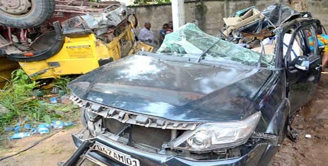 Accident de circulation à kinshasa