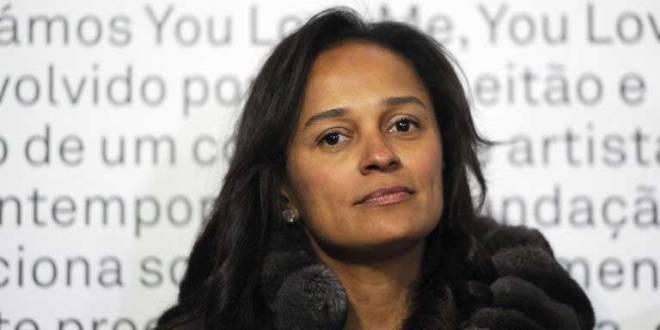 Isabel dos Santos, la fille du président angolais José Eduardo dos Santos.