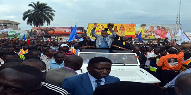 Retour de Moise KATUMBI au pays, 2014.