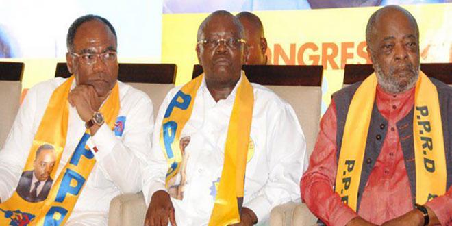 PPRD : Entoine SHE O KITUNDU, André KIMBUTA YANGO et Abdoulaye YERODIA NDOMBASI