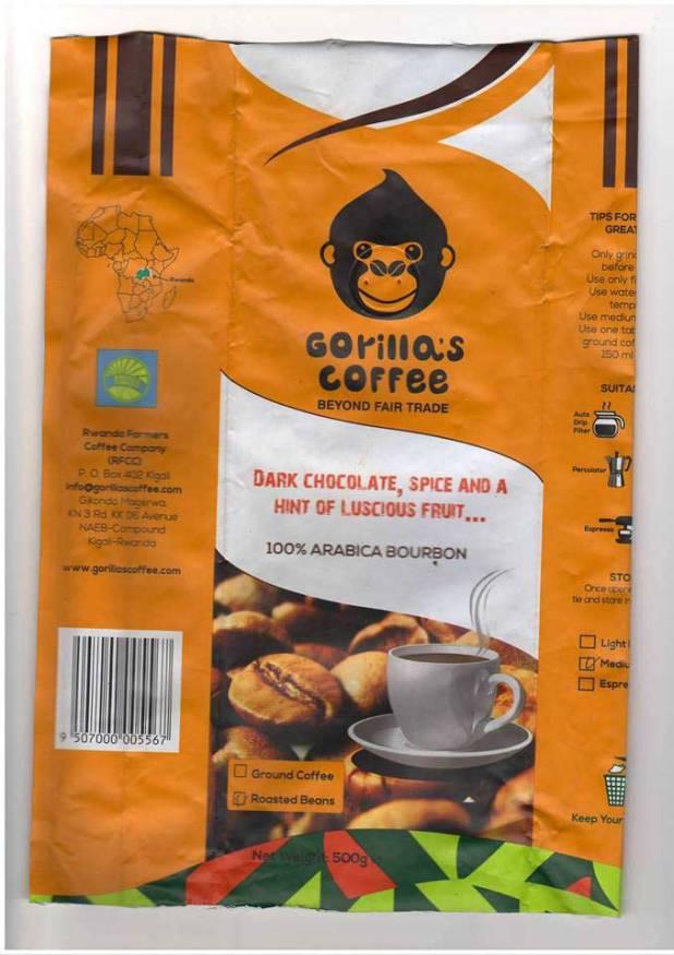 Gorilla's Coffee, Rwanda Farmers Coffee Company, en sigle « RFCC »