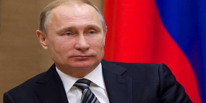 Le President russe, Vladimir PUTIN