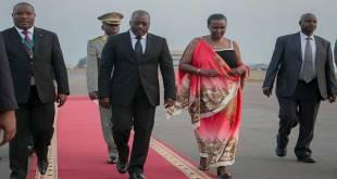 """Joseph KABILA"" lors de son arrivée a Kigali, Juillet 2016."