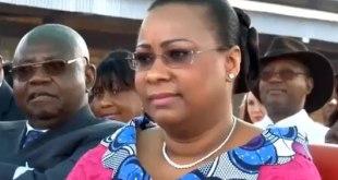 Marie-Olive LEMBE DI SITA, Premiere Dame de RDC.