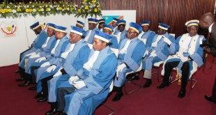 Membres de la Cour constitutionnelle de RDC