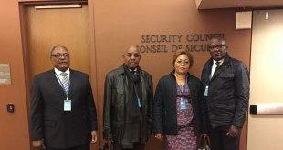 Francois MUAMBA [second left]