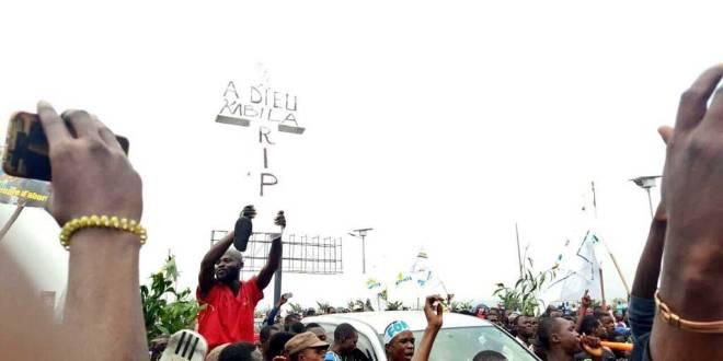 Retour d'Etienne TSHISEKEDI, Kinshasa, 27 Juillet 2016.