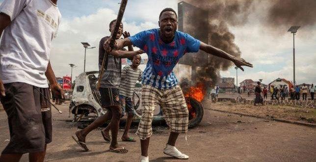 Manifestations du 19-20 Septembre, Kinshasa