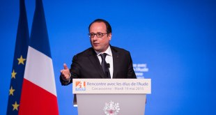 Francois HOLLANDE, french president.