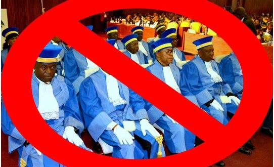 Membres de la Cour Constitutionnelle, RDC.
