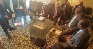 Reunion, corps diplomatique et Edem KODJO