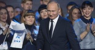vladimir POUTINE, president russe.