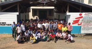 Membres du Medicin Sans Frontière, Kasai, RDC.