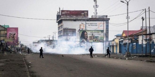 Manifestation 21 Janvier 2018, Kinshasa, RDC.