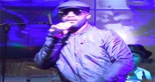 Fally IPUPA lors de son concert à l'hotel Club du Lac de Bujumbura