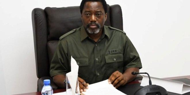 Joseph KABILA, president RDC.
