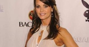 """Karen McDougal, une ancienne """"Playmate"""" du magazine érotique Playboy, à Miami en Floride, le 6 février 2010"""