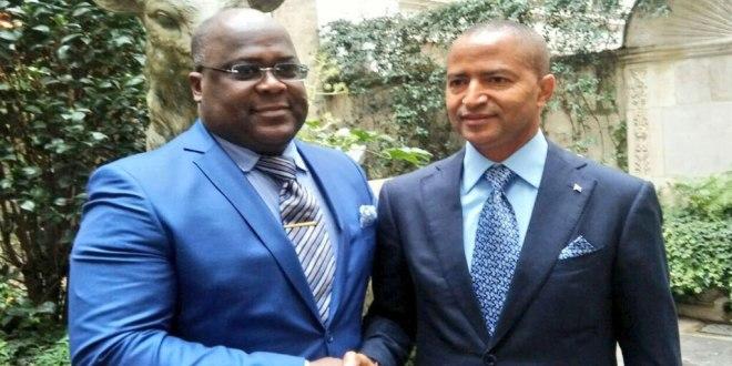 Felix Antoine TSHILOMBO TSHISEKEDI et Moise KATUMBI CHAPWE