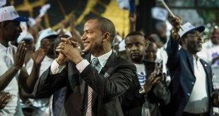 Moise Katumbi lors d'une conclave en Afrique du Sud.