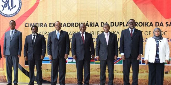 SADC Luanda Sommet April 2018