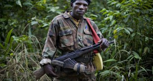 Rebelle FDLR, Est de RDC. Photo archive.