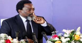 Première conférence de presse de Joseph Kabila en six ans. Photo prise le 26 janvier 2018/Kenny Katombe.