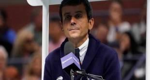 Carlos RAMOS : Un raciste qu'il faut écarter de l'arbitrage Tennis
