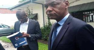 Christophe Tito Ndombi - président du Conseil supérieur de l'audiovisuel et de la communication (CSAC)
