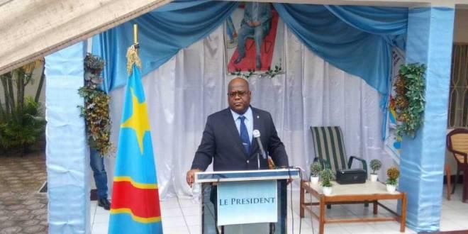 Félix-Antoine TSHISEKEDI TSHILOMBO dit Fatshi, president national de l'UDPS/Tshisekedi.