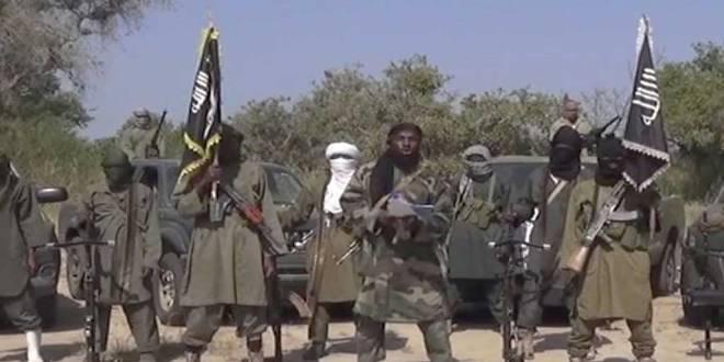 Le chef de Boko Haram et ses lieutenants.