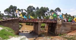Butembo : Pont reliant Rughenda au Centre-ville