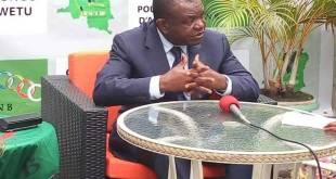 Freddy MATUNGULU, membre de la coalition Lamuka, a la présidentielle 2018 en RDC.