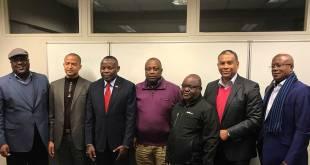 Photo de famille des oppositions politiques congolaise.