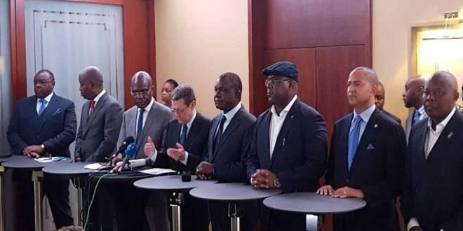 Les Oppositions congolaise, en Suisse, après avoir désigné un candidat commun.