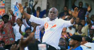 Martin FAYULU MADIDI dit Mafa, à Goma, ce jeudi 6 décembre 2018.