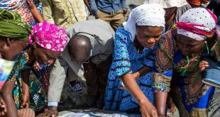 Electeurs congolais le jour du vote.