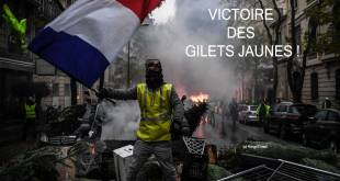 Act 4 : Victoire des Gilets Jaunes en France !
