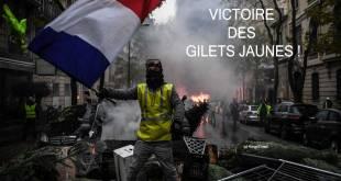 Act 4 : Victoire des Gilets Jaunes en France !